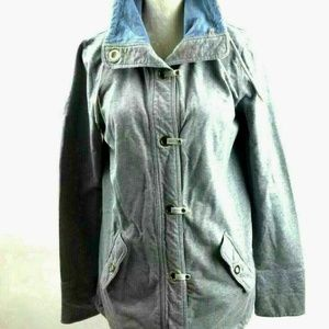 Kate Hill Medium Lightweight Cotton Jacket Gray